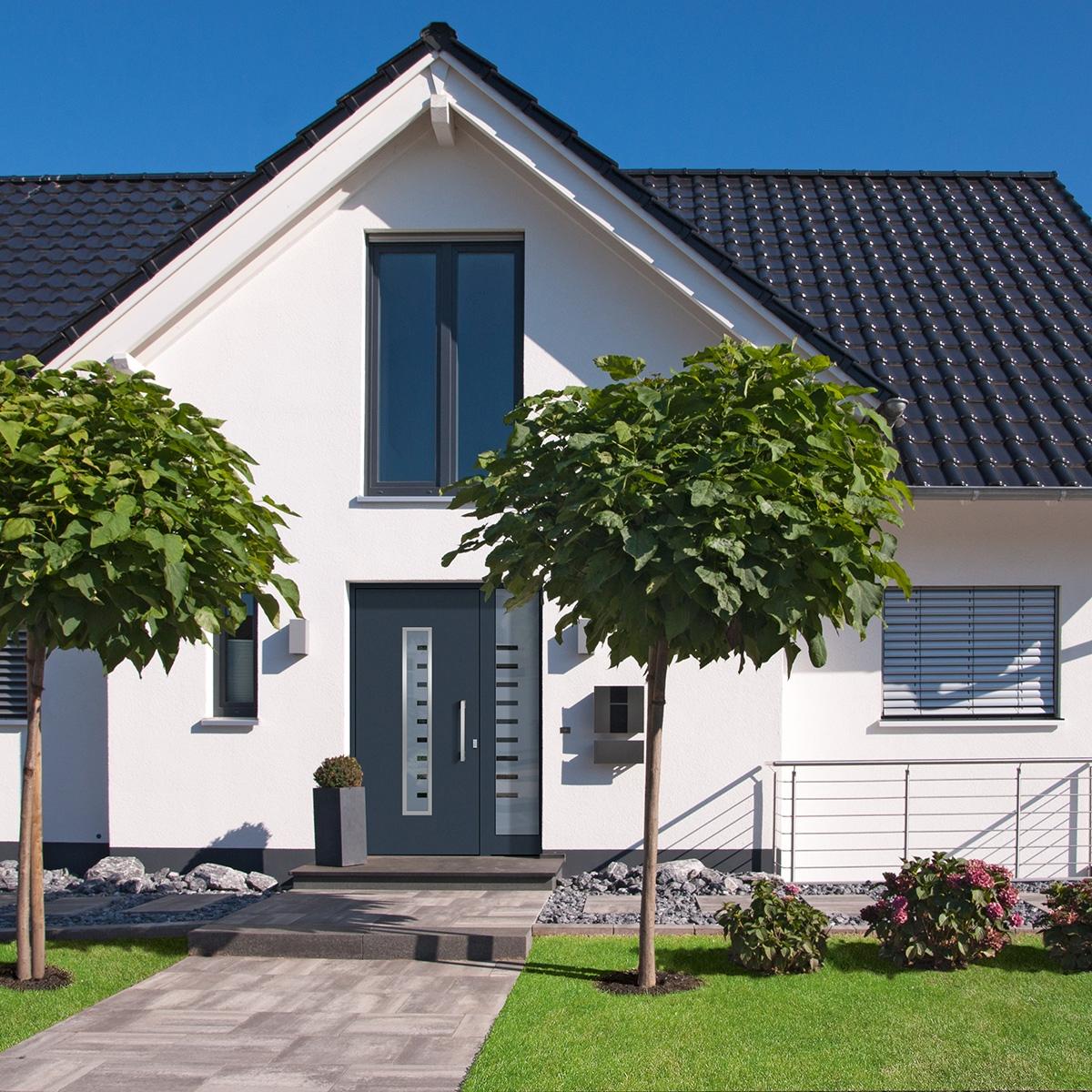 Glasdachs-Haustüren